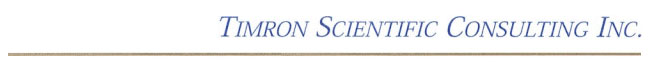 Timron Scientific Consulting